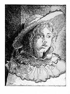 Betta in costume di carnevale