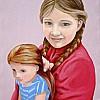 Francesca con la bambola 2013