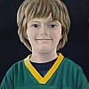 Alessandro con la maglia dei Green Bay Packers