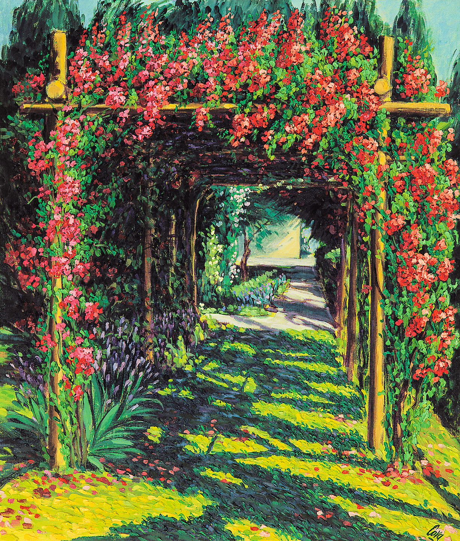 Dipinti olio e acrilico alberto cova - Il giardino di ausonia ...